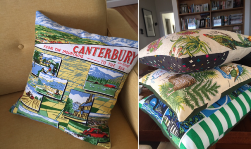 Canterbury cushions