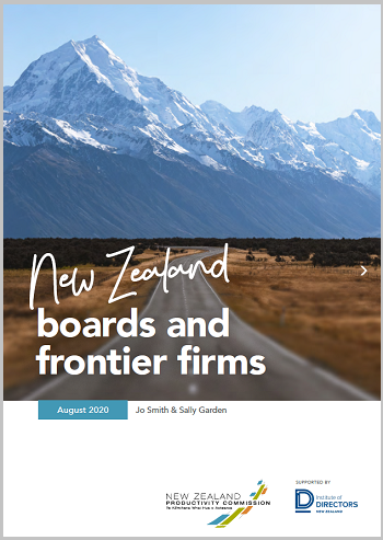 New Zealand boards and frontier firms